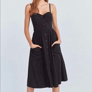 Urban Outfitters Cooperative Emilia midi Dress